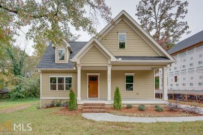 College Park Single Family Home For Sale: 3279 Connally