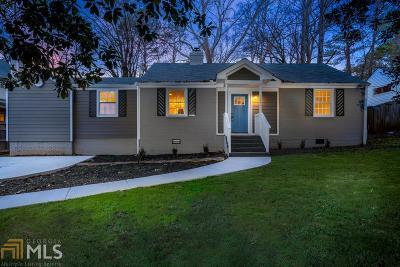 Decatur Single Family Home For Sale: 1237 Thomas Rd