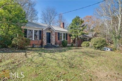 Sylvan Hills Single Family Home Under Contract: 1733 Sylvan Rd