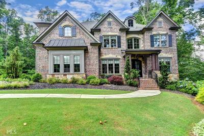 Cumming Single Family Home Under Contract: 2215 Manor Creek Ct