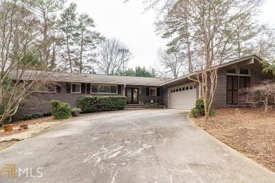 Avondale Estates Single Family Home Under Contract: 1280 Berkeley Rd