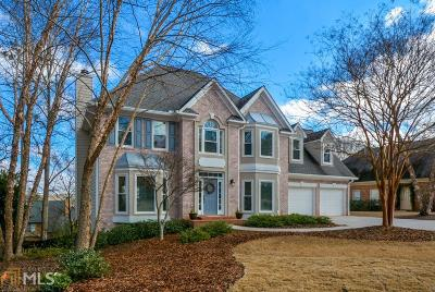 Roswell Single Family Home Under Contract: 5205 Tealing Dr