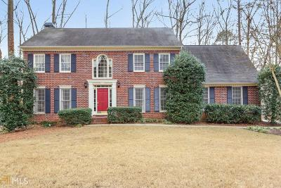 Alpharetta Single Family Home Under Contract: 771 Bentwood Trce