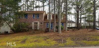 Snellville Single Family Home Under Contract: 3698 Trenton Dr