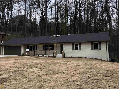 Roswell Single Family Home For Sale: 320 Knoll Woods Ter