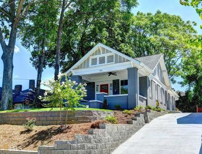 Old Fourth Ward Single Family Home Under Contract: 531 Wabash Ave