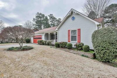 Rockdale County Single Family Home Under Contract: 3431 Underwood Rd
