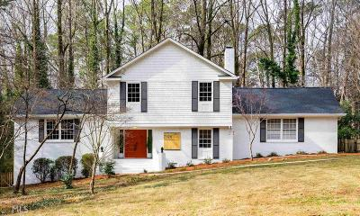 Stone Mountain Single Family Home For Sale: 2326 Flintlock Dr