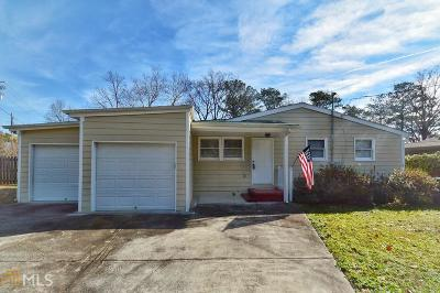 Chamblee Single Family Home For Sale: 3243 Clairwood Ter