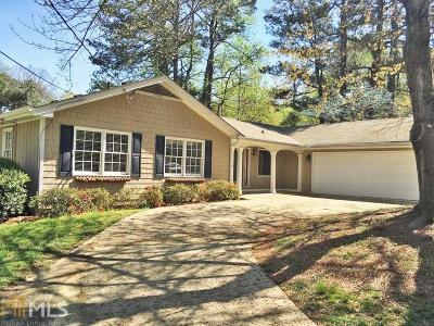 Tucker Single Family Home Contingent With Kickout: 2875 Indian Trail Dr