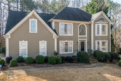 Johns Creek Single Family Home Under Contract: 9950 Groomsbridge Rd