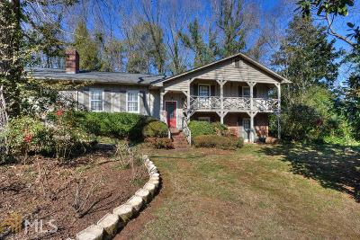 Cartersville Single Family Home Under Contract: 70 Oakridge Dr