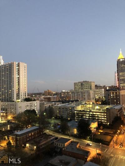 Plaza Midtown Condo/Townhouse For Sale: 950 W Peachtree St #1711