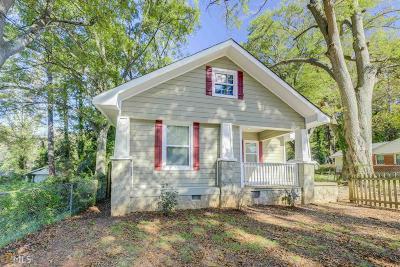 Oakland City Single Family Home For Sale: 1387 Avon Ave
