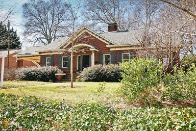 Avondale Estates Single Family Home Under Contract: 5 Fairfield Dr