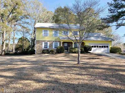 Conyers Single Family Home Under Contract: 2100 Ann Ct
