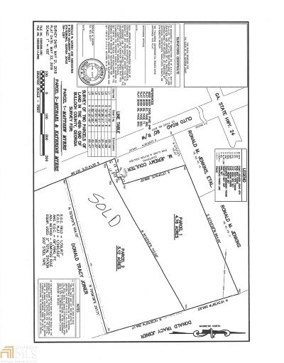 Statesboro Residential Lots & Land For Sale: Clito Rd