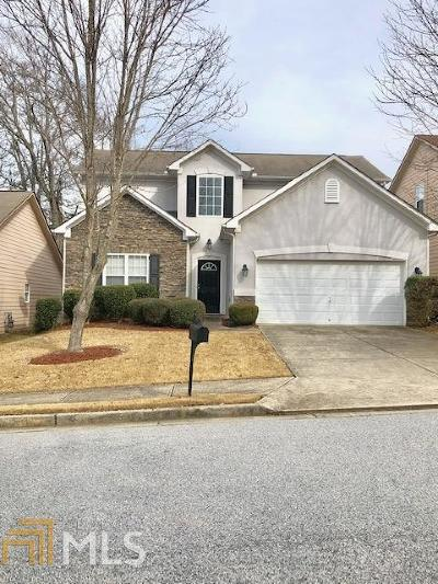 Lithia Springs Single Family Home Under Contract: 7733 Parkside Dr