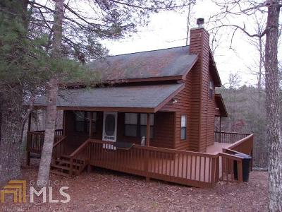 Blairsville Single Family Home For Sale: 165 Wild Ridge Rd