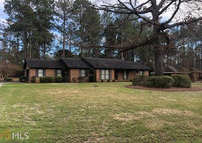 Statesboro Single Family Home For Sale: 121 Elliswood Dr