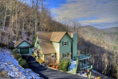 Blairsville Single Family Home Under Contract: 338 Moon Ridge #C4