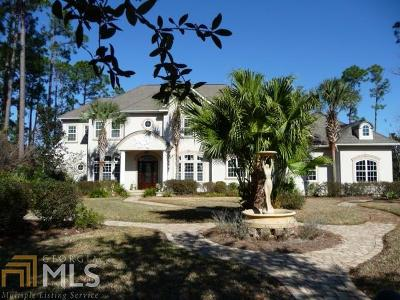 St. Marys Single Family Home For Sale: 130 Live Oak Cir