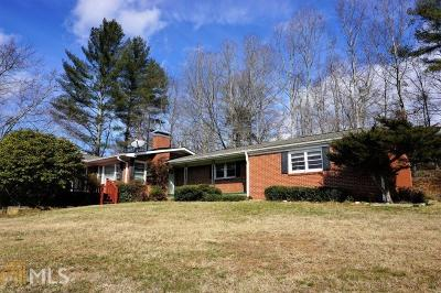 Blairsville Single Family Home Under Contract: 1395 Town Creek School Rd