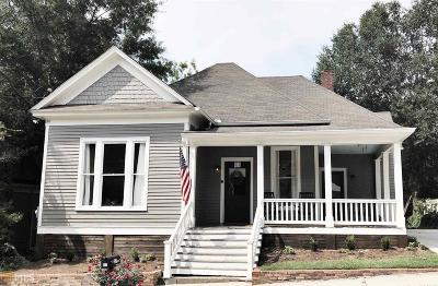 Newnan Single Family Home For Sale: 57 Wesley St