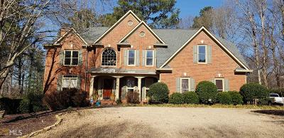 Suwanee Single Family Home New: 1680 Chattahoochee Run Dr