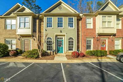 Roswell Condo/Townhouse Under Contract: 1266 Harris Commons Pl