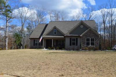 Newnan Single Family Home Under Contract: 99 Smokey Ridge Dr