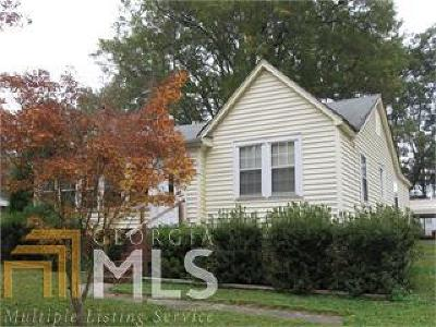 Griffin Single Family Home Under Contract: 311 Hammond Dr