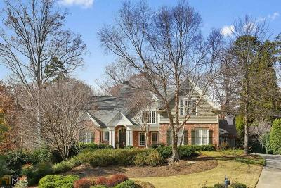 Marietta, Roswell Single Family Home Under Contract: 4813 Rivercliff Dr