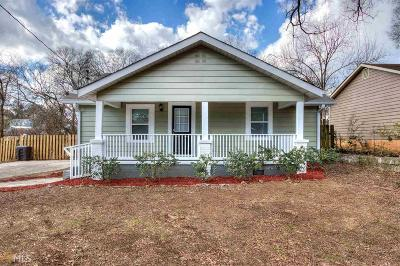 Cartersville Single Family Home Under Contract: 108 Courrant St