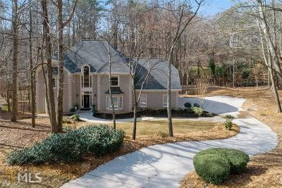 Roswell Single Family Home Under Contract: 345 Spring Lake Ter