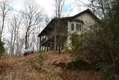 Rabun County Single Family Home Under Contract: 1577 Persimmon Rd