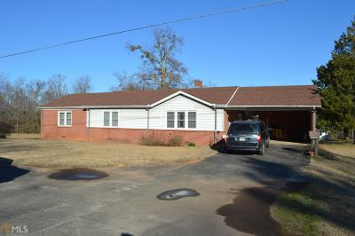 Elbert County, Franklin County, Hart County Single Family Home Under Contract: 10768 Highway 106