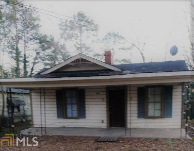 Griffin Single Family Home For Sale: 1110 Wright St