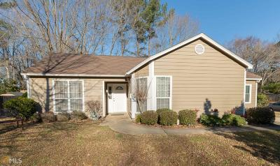Peachtree City Single Family Home Under Contract: 220 Valley Vw #56