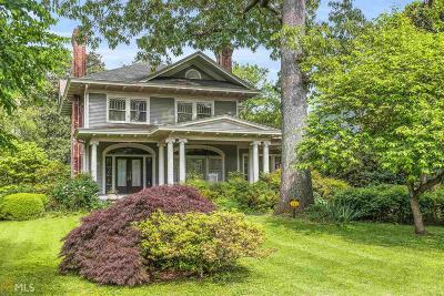 Inman Park Single Family Home For Sale: 513 Seminole Ave
