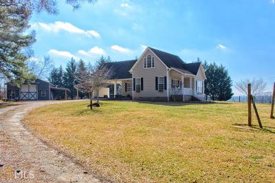 Bowdon Single Family Home Under Contract: 1250 Watts Rd