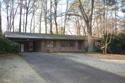 Sandy Springs Single Family Home Under Contract: 487 Pine Haven Ln