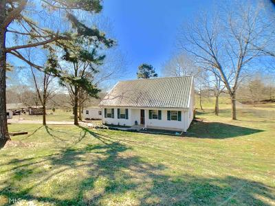 Banks County Single Family Home Under Contract: 150 Ridgeway Dr