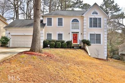 Stone Mountain Single Family Home Under Contract: 506 Mountain Oaks Pkwy
