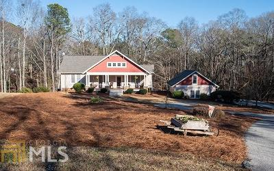 Roopville Single Family Home For Sale: 80 Highway 27 S