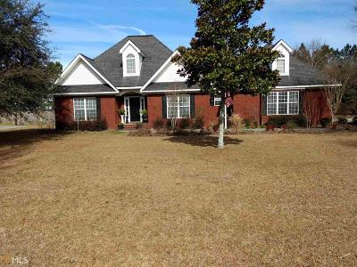 Statesboro Single Family Home For Sale: 9058 Oakfield Dr
