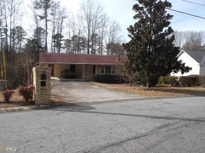 Conyers GA Single Family Home For Sale: $125,900