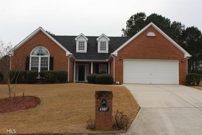 Stone Mountain Single Family Home Under Contract: 6007 Magnolia Ridge