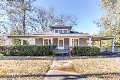 Habersham County Single Family Home Under Contract: 713 Washington St