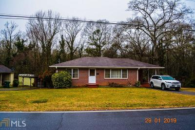 Hartwell Single Family Home Under Contract: 70 Cunningham Dr